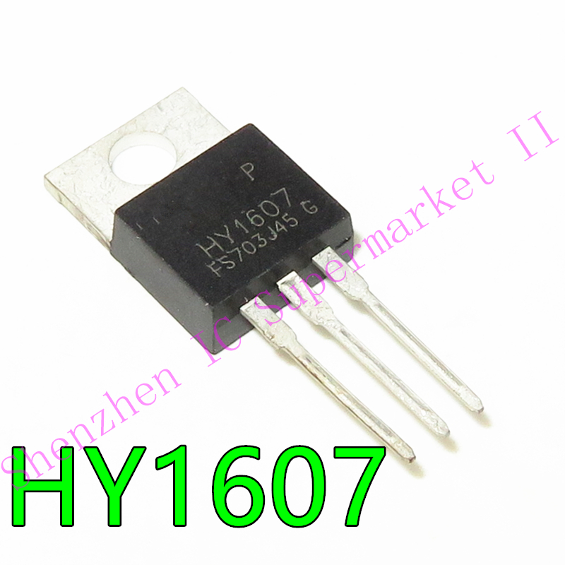 5pcs HY1607 TO-220 N-Channel Enhancement Mode MOSFET
