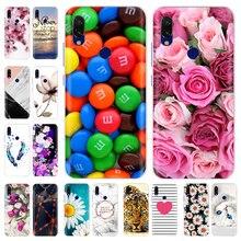 Soft TPU Case For Xiaomi Redmi Note 7 6 Pro 5 Pro Cover Transparent Coque Cute Flowers Animals Cases Redmi Note 7 Pro Case