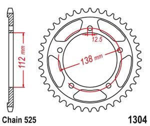 Image 2 - 525 אופנוע סבבת אחורי הונדה VT750 צל 98 07 10 13 CBF500 04 08 CB600 הורנט 98 13 CBF600 08 12 CB650 CBR650 14 20