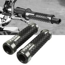 цена на Motorcycle Accessories  7/8 22mm Handle Bar Grip Cnc Aluminum For YAMAHA FZ6N FAZER 1998-2003