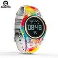 CAINUOS  красочные умные часы с датчиком движения  цифровые  умные  спортивные  для фитнеса  для женщин  модные  водонепроницаемые  с шагомером  т...