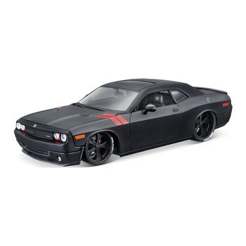 Maisto 1:24 2008 Dodge Challenger simulation alloy car model crafts decoration collection toy tools gift maisto 1 24 old jeep wrangler simulation alloy car model crafts decoration collection toy tools gift