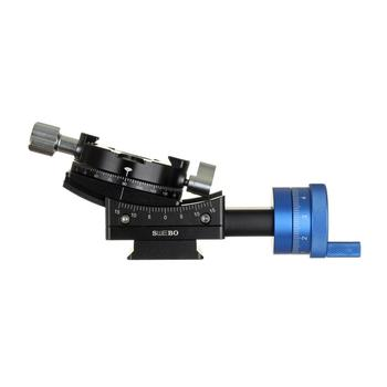 ±15° Macro Focusing Rail Slider Tripod Head Gear Drive for Delayed photography Starry sky camra video for nikon sony canon