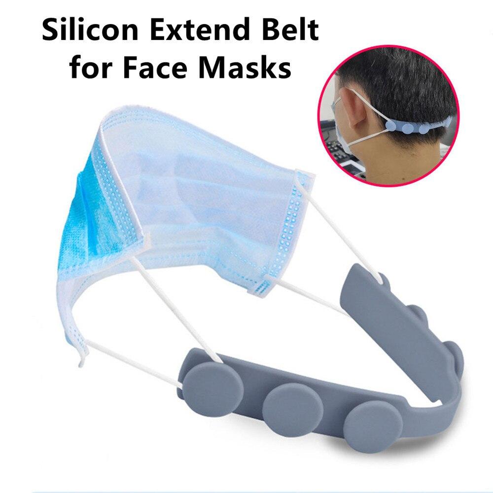 Soft Mask Strap Extend Belt Adjustment Masks Buckle Holder Ear Protector Hook For Children Adult Anti-Earache Non-slip Extender