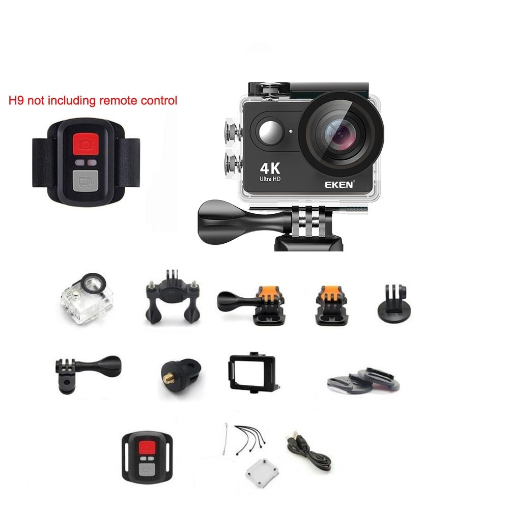 "Original EKEN H9 / H9R Action Camera Ultra HD 4K / 30fps WiFi 2.0"" 170D Underwater Waterproof Cam Helmet Vedio Sport pro Cam-3"