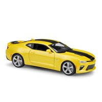 Maisto CHEVROLET CAMARO Diecast Model Car 1:18 Metal Alloy High Simulation Cars With Base Boys Toys Vehicles Gifts For Boy Men