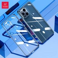 Find X3 Pro Coque, Xundd Cas Pour OPPO Find X3 Lite Neo Cas, Noir Transparent Couverture de Téléphone Antichoc Ajusté Mode Coquille