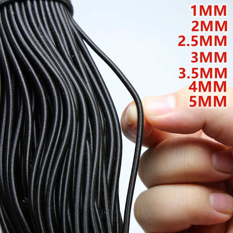 High-QualityRound Elastic Band Round Elastic Rope Rubber Band Elastic Line DIY Sewing Accessories elastic beading