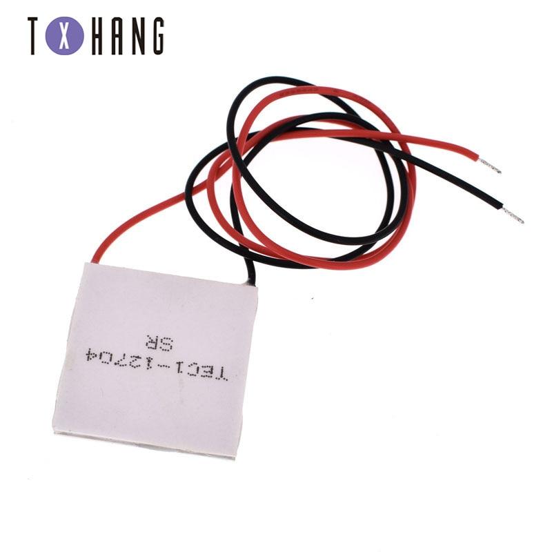 TES1-12704 12V Heatsink TEC Thermoelectric Cooler Peltier 30mm*30mm