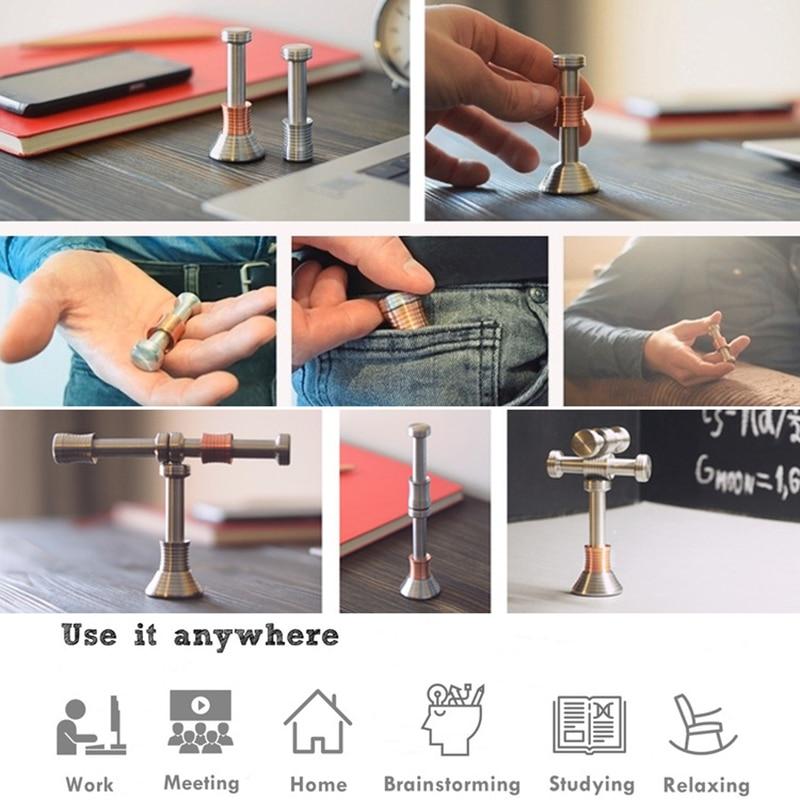 Desk-Toys Autism Fidget Stress Finger-Moondrop Flipo Flip Metal Magic Relief Gift Funny img5