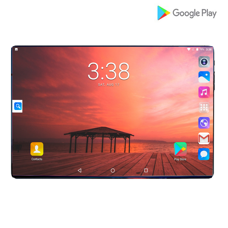 Hot 10.1 Inch 4G LTE Tablet PC Octa Core 1280x800 IPS HD 8.0MP Wifi 6GB RAM 64GB ROM Android 9.0 GPS Phone Tablets 10.1+ Gift
