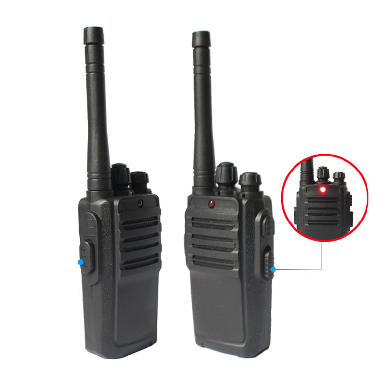2 Pcs Portable Mini Walkie Talkie Kids Radio Frequency Transceiver Ham Radio Children Toys Gifts FO Sale