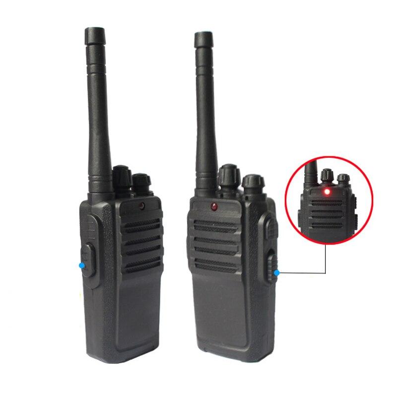 2 Pcs Portable Mini Walkie Talkie Kids Radio Frequency Transceiver Ham Radio Children Toys Gifts FO Sale