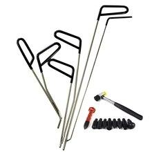 Стержни Крюк Инструменты безболезненный вмятин ремонт автомобиля инструмент для удаления вмятин набор градом молоток