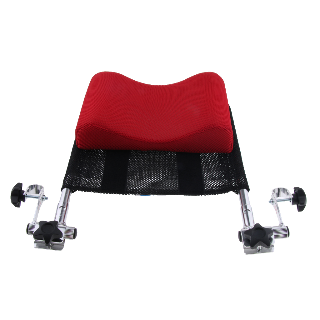 Wheelchair Headrest Support Pillow Adjustable Backrest Cushion for 16 inch 20 inch Mobile Potty Chair Travel Chair Wheelchair|Weelchair| |  - title=