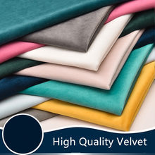 Flannel fabric Dutch velvet sofa cushion pillow counter curtain sofa diy cloth clothing Sewing Upholstery Furnishing fabric(China)