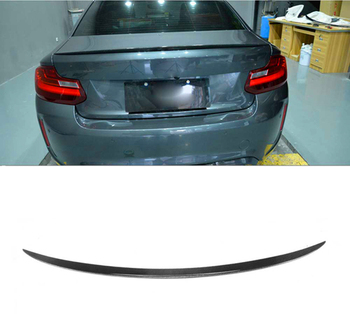 For BMW 2 Series coupe F22 M2 f87 spoiler 2013--2019 year rear wing m style Sport body kit Accessories real carbon fiber
