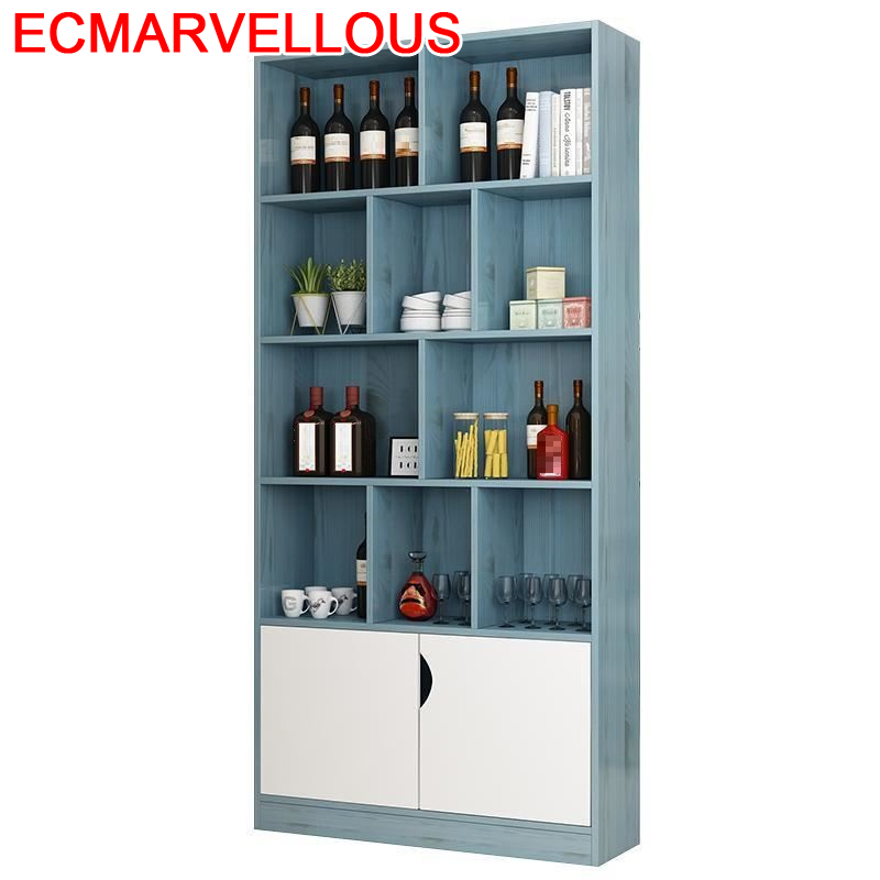 Sala Mobilya Meble Table Storage Kitchen Cristaleira Display Meube Rack Mueble Bar Commercial Furniture Shelf Wine Cabinet