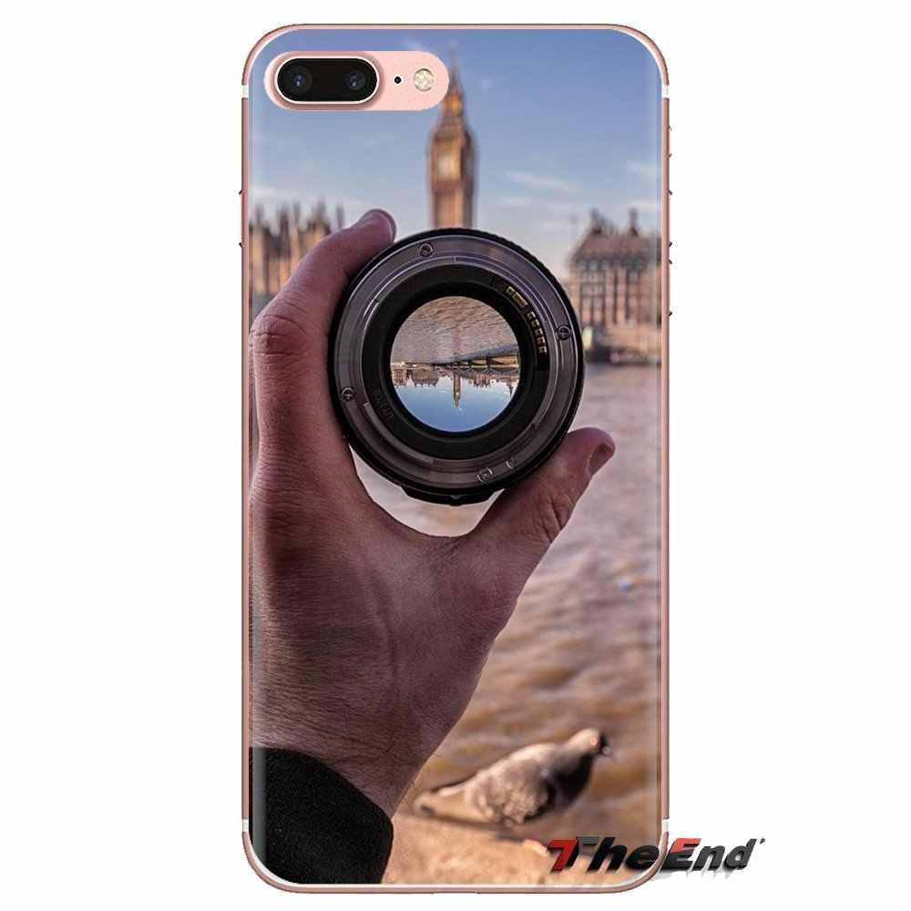 英国写真家インスピレーションシリコーン電話シェル Redmi 4A S2 注 3 3S 4 4 × 5 プラス 6 7 6A プロ Pocophone F1