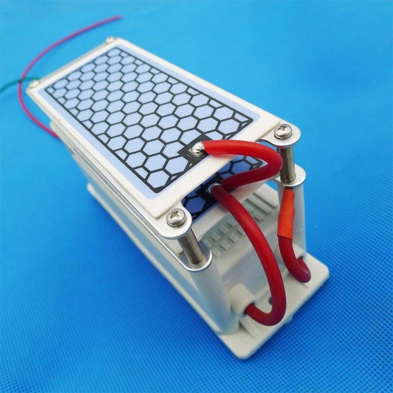 220v 10g/h Ozone Generator Ozonizer Sterilizer Air Purifier For Home Ceramic Plate Long Life For Deodorization