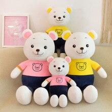 Teddy Bear Plush Toy Stuffed Cartoon Bear Doll Toy Soft Plush Cut Pillow Children Toy Girls Birthday Gift