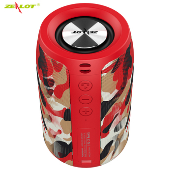 Zealot S32 Bluetooth Speaker fm Radio Portable Small Wireless Speaker Subwoofer Support TF card,USB Flash Drive