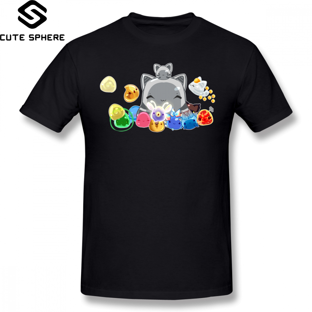 <font><b>Slime</b></font> <font><b>Rancher</b></font> T <font><b>Shirt</b></font> <font><b>Slime</b></font> Collecter T-<font><b>Shirt</b></font> Cute Short Sleeves Tee <font><b>Shirt</b></font> 100 Cotton Plus size Beach Mens Graphic Tshirt image