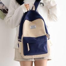 Школьные ранцы для девочек подростков легкий рюкзак из ткани