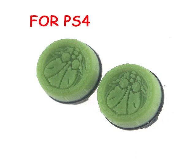 2 uds. = 1 Juego de tapas de palanca de mando para Sony PS4 playstation 4, con paquete