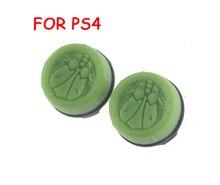 2pcs = 1set 엄지 그립 스틱 커버 조이스틱 캡 소니 PS4 플레이 스테이션 4 컨트롤러 패키지