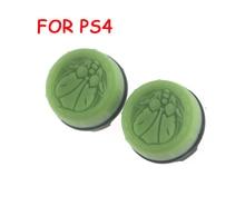2pcs = 1set Thumb Grip Stick ฝาครอบจอยสติ๊กสำหรับ Sony PS4 PlayStation 4 Controller แพคเกจ