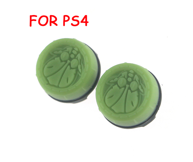 2pcs=1set Thumb Grip Stick cover joystick Caps for Sony PS4 playstation 4 Controller with package