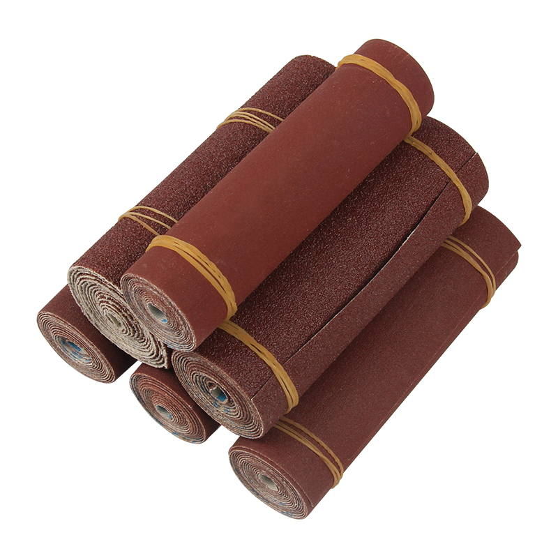 1Roll 1M 80-600 Grit Emery Cloth Roll Polishing Sandpaper For Grinding Tools Metalworking Dremel Woodworking Abrasive Tools