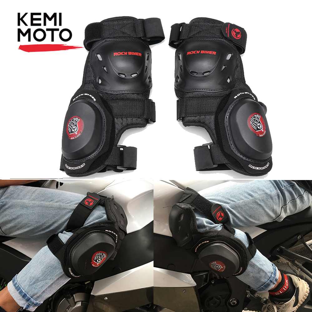 Motorcycle Knee Pads Motocross Protector Protective Gear Kneepad Moto Knee Brace Support Knight Drop Protection Leggings