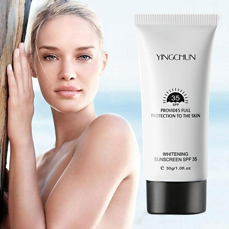 Sunscreen SPF35+ Whitening Repair Sunblock Skin UV Protective Cream Isolation