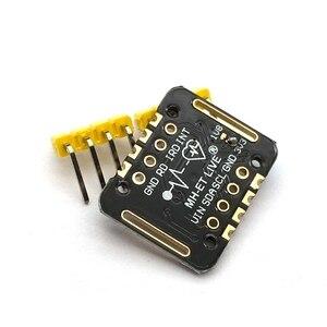 Image 4 - MH ET LIVE MAX30102 Herz Rate Sensor Modul Puls Erkennung Blut Sauerstoff Konzentration Test Für Uno Ultra Low Power