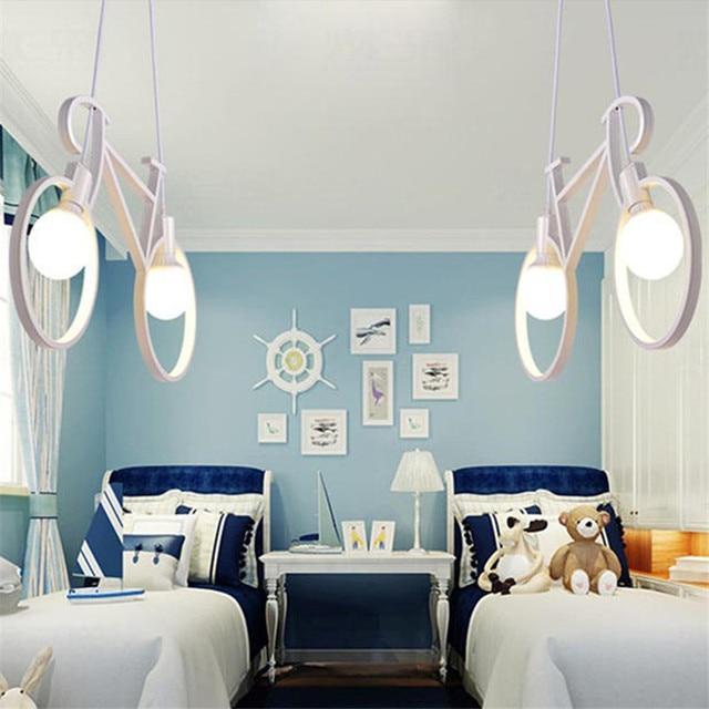Industrieël Retro Ijzeren Fiets Hanglamp 3