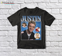Justin Timberlake 90s Vintage Unisex Black Tshirt men t shirt justin timberlake justin timberlake the 20 20 experience part 2 2 lp