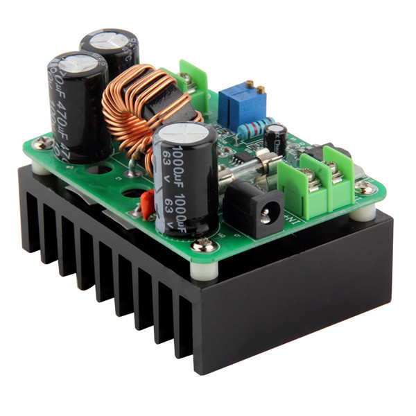<font><b>DC</b></font>-<font><b>DC</b></font> <font><b>600W</b></font> <font><b>DC</b></font> IN 10-60V OUT 12-80V Boost Converter <font><b>Step</b></font>-<font><b>up</b></font> Car Module Mobile Power Supply <font><b>DC</b></font> Module image