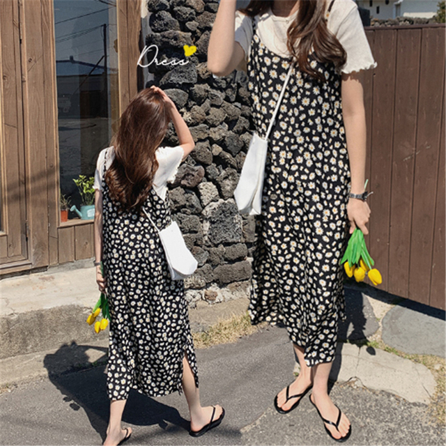 New S-Xl Spring  2 Piece Suit Sleeveless Vintage Women Dresses Female T shirt Blusas Girls Dress Suits V Neck Robe Femme Vestido 1