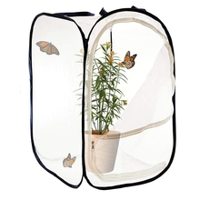 Collapsible Insect and Butterfly Habitat Cage Seedling Cultivation Control Box Observation