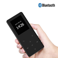 1.8 inch Screen 8GB/16GB Portable MP3 Music Player FM E Book Reader MP 4 Metal HiFi Lossless Running Car Walkman