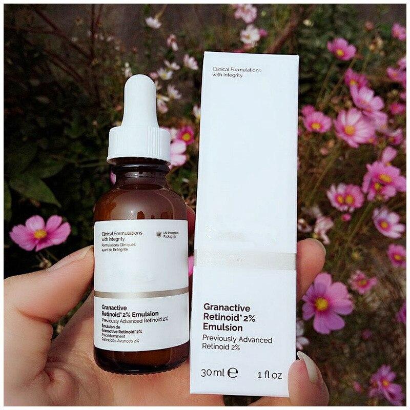 Retinoid granativo 2% emulsão anti envelhecimento desvanece linhas finas clareamento clarear a cor da pele anti rugas ssrum venda inteira