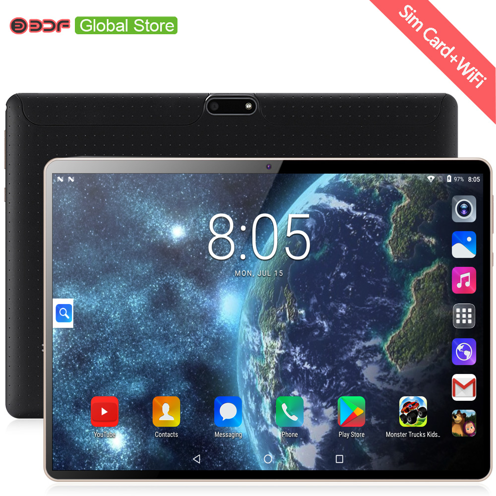 New Arrivals 10 Inch Tablet Pc Android 7.0 Quad Core CE Brand Phone Call 3G Dual SIM Google Play WiFi Bluetooth CE Brand 10.1