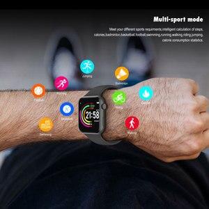 Image 4 - VERYFiTEK F10 akıllı saat nabız monitörü kan basıncı spor bilezik izle kadın erkek Smartwatch PK B57 P80 P70 IWO 8 9