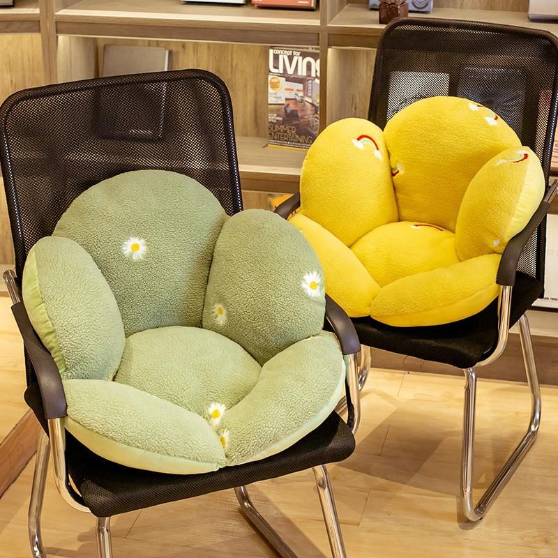 1pc Super Big Plush Colorful Flowers Pillow Soft Toy Stuffed Toy Plush Mats Meditation Cushion Floor Cushions For Kids