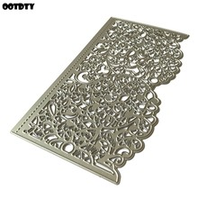 Wedding Lace Metal Cutting Dies 2020 Stencil Scrapbooking DIY Album Stamp Paper Card Embossing Decor Handmade Arts Crafts(China)