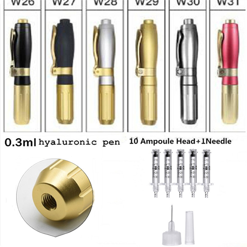 0 3ml and 0 5ml Germany hyaluronic pen atomizer hyaluron injection pen wrinkle removal for Facial Beauty tools 2019 in Face Skin Care Tools from Beauty Health