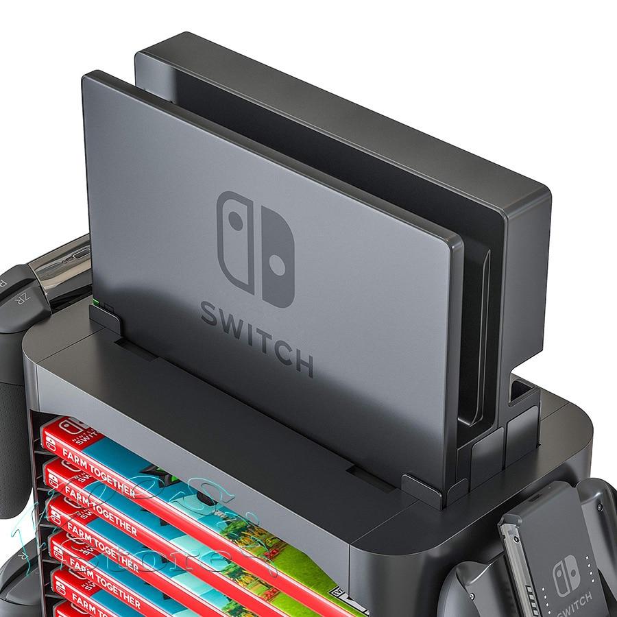 Stojalo za shranjevanje dodatkov za konzolo Nintendo Switch Nintendo - Igre in dodatki - Fotografija 5