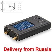 แบบพกพาRFเครื่องวิเคราะห์สเปกตรัมArinst Spectrum Explorer SSA TG R2ติดตามเครื่องกำเนิดไฟฟ้า6.2 GHzหน้าจอสัมผัส